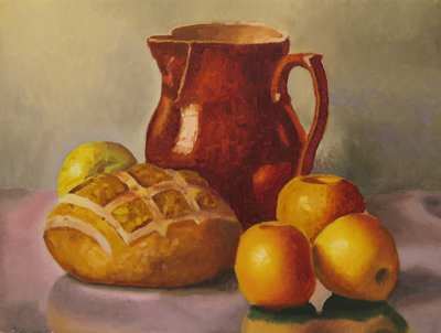 * Demonstration painting by Instructor Robert J. Seufert