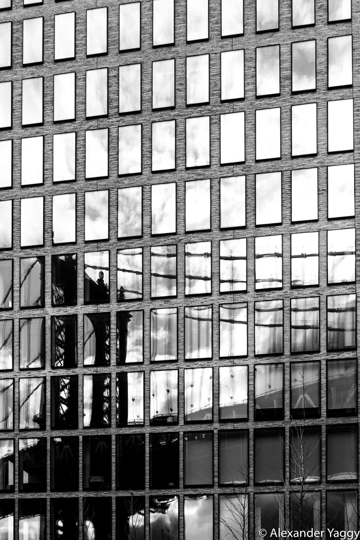 Manhattan Bridge Reflection