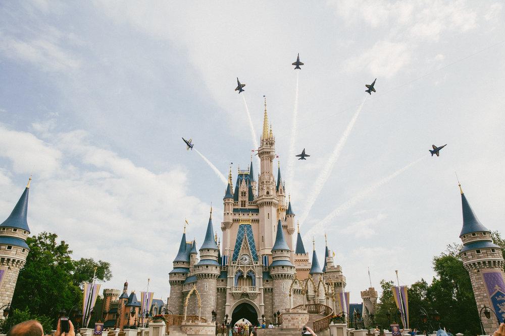 Stephanie Hammond // Fuji 400 // The Blue Angels over Disney World