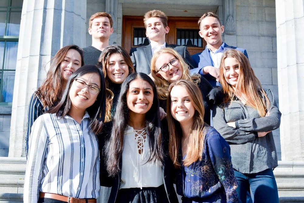 Communications & Marketing Portfolio (Chair: Garima Karia)   Isabella Chon, Jennifer Chan, Alex Le Coz, Judith Minialai, Yann Bachelot, Ellie Solloway, Bella Harvey, Samuel Moir and Noémie Benaroch.