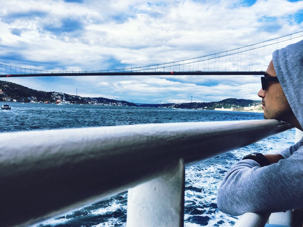 Cruising the Bosphorus will leave you speechless.
