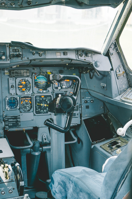 Cockpit on Airplane Restaurant