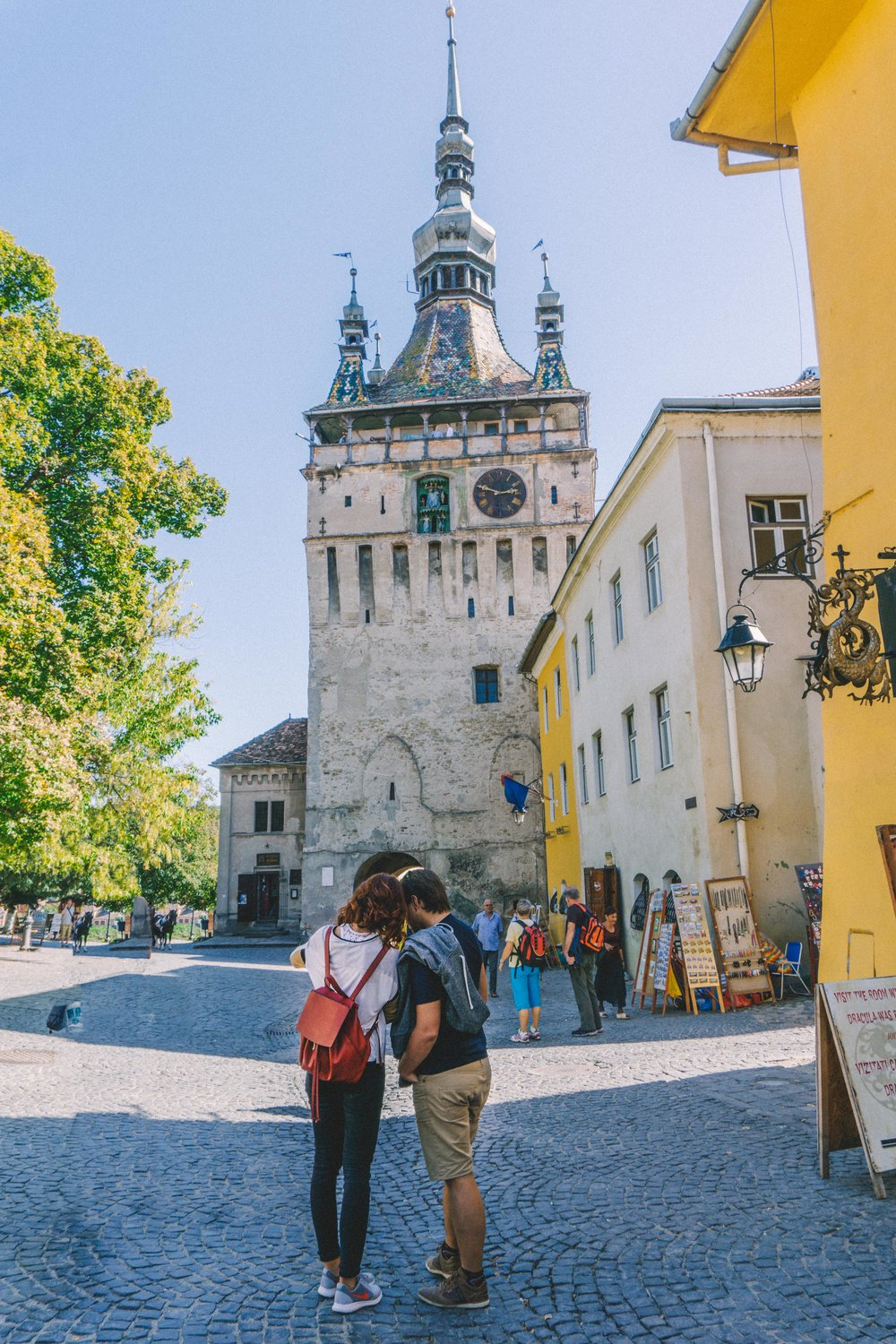 The Most Colorful Medieval City in Europe – Sighisoara, Romania
