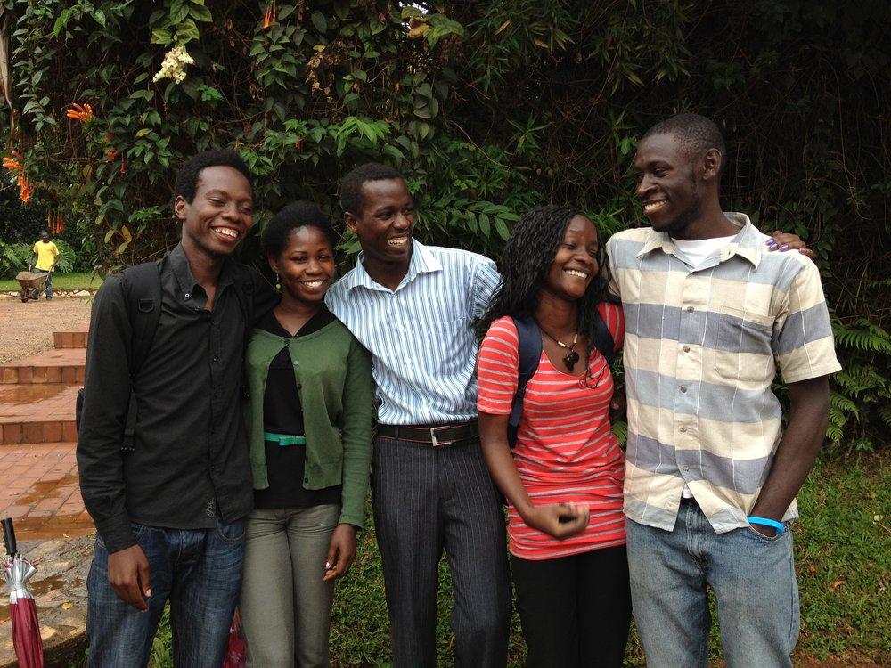 STOLT OVER våre første studenter SOM er ferdig med Bachelor.