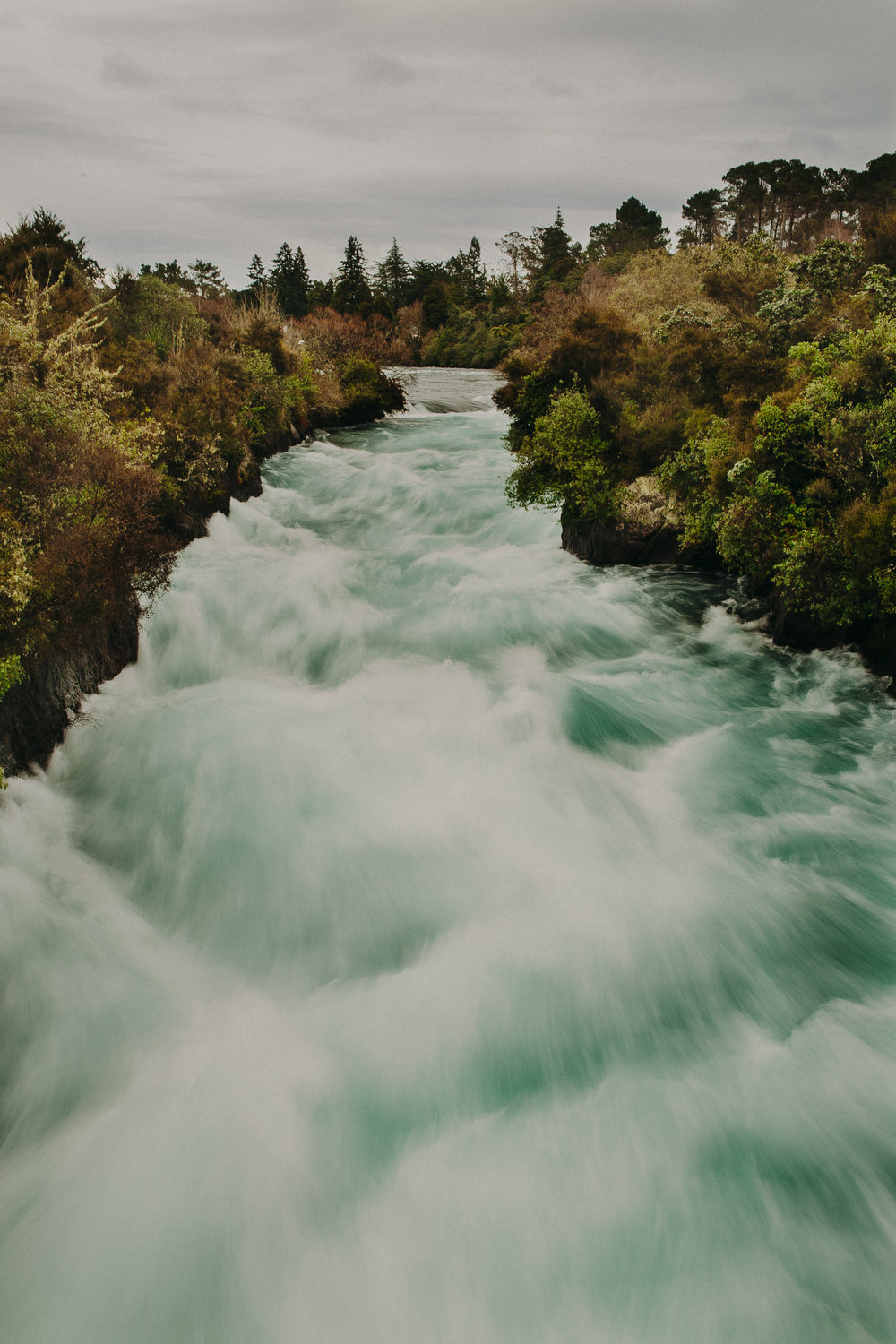 Waikato River and Huka Falls