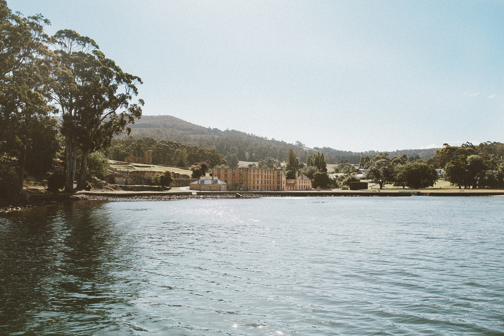 Port Arthur from the boat.