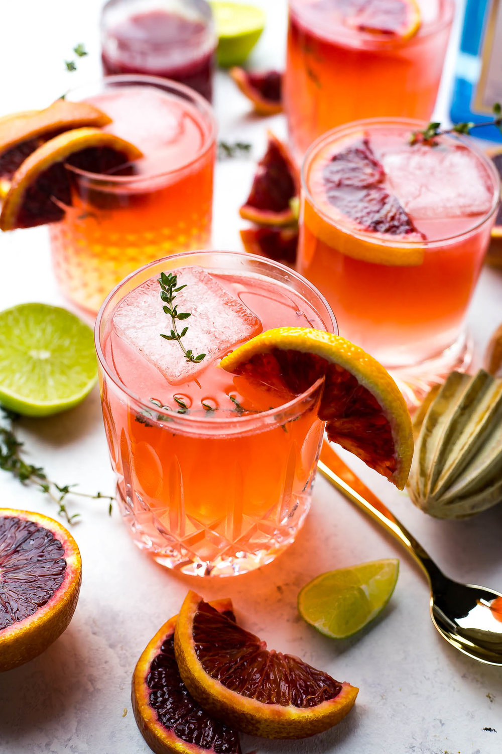 Blood Orange Gin & Tonics