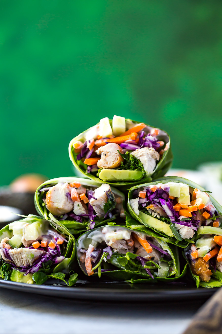 Low Carb Garlic Chicken Collard Wraps-5.jpg