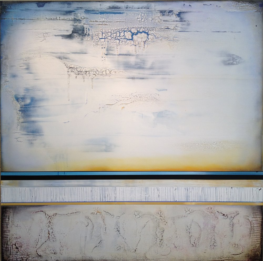 """ALMOST HOME"", 2014, 60""x60"", on canvas. In private collection"
