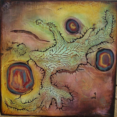 """Bloodline"", 2005, 36x36, in private collection"