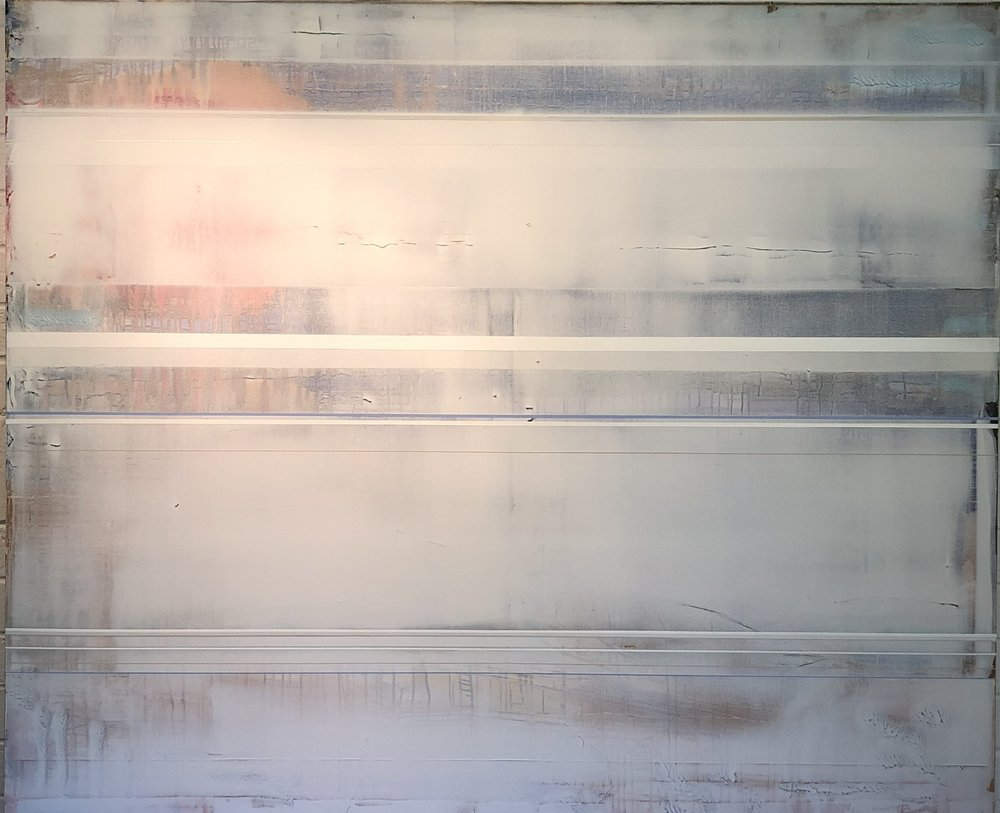 """""""WAIT"""", 2018, 60x72. In private collection"""