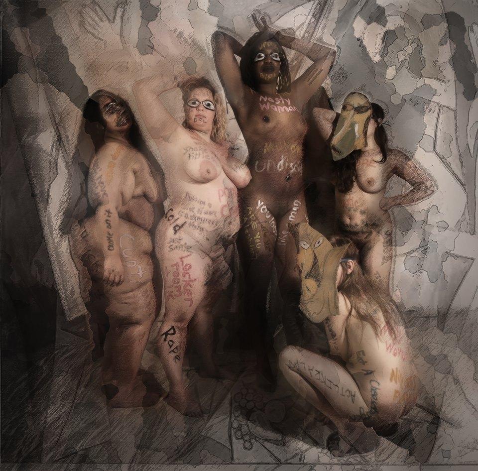 Les Demoiselles d'Avignon recreation