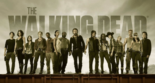 I know there are no zombies in this picture, but just look at all the beautiful badasses!