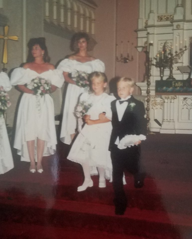 Momma actually made all of the dresses in this picture. Like I said, she is incredibly talented.