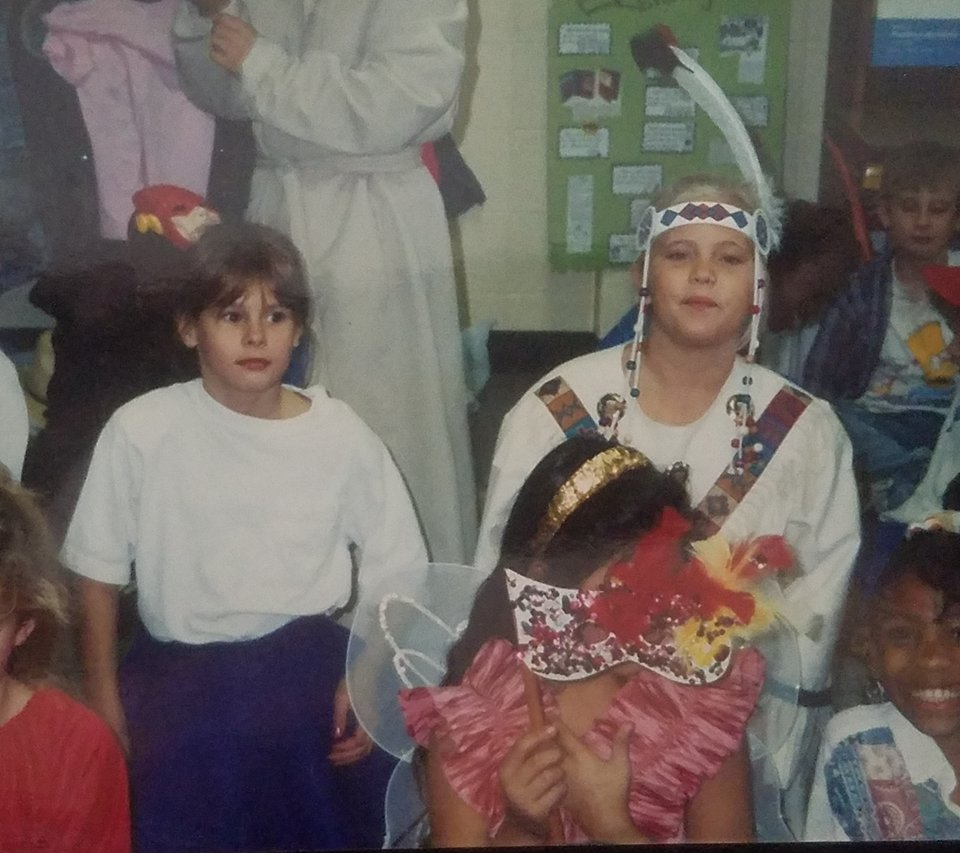 Cultural appropriation wasn't really on the radar in small-town Missouri in the early 90's. We'd gone to a native powwow not long before, and I'd been very interested in all things native ever since.