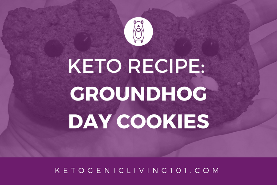 Keto Recipe: Groundhog Day Cookies