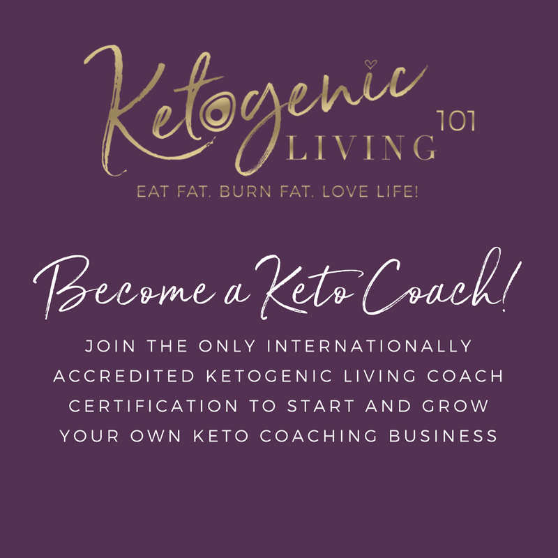 Want To Become A Keto Coach Ketogenic Living 101