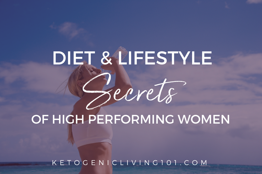 diet and lifestyle secrets of high performing women