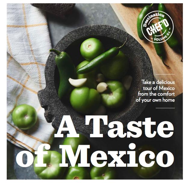 Destination Chefd Mexico book (expand)