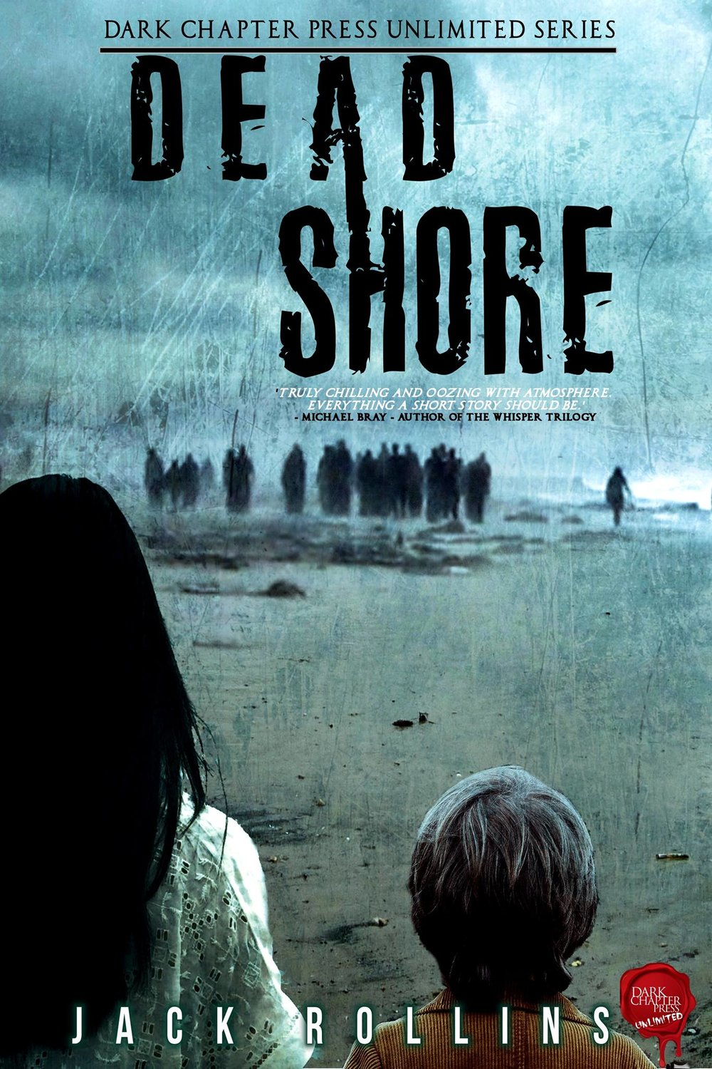 Dead Shore,by Jack Rollins sees a dead creature wash up on the Northumberland coast, unleashing a terrifying virus on a sleepy coastal village.