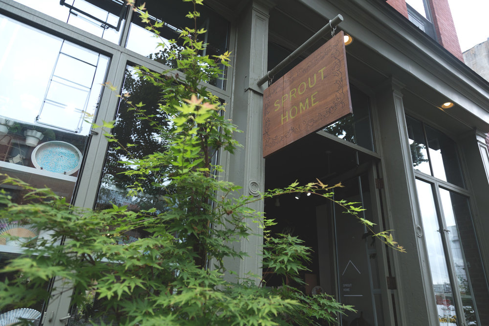 Sprout Brooklyn's neighboring location specializes in Kitchen and Table