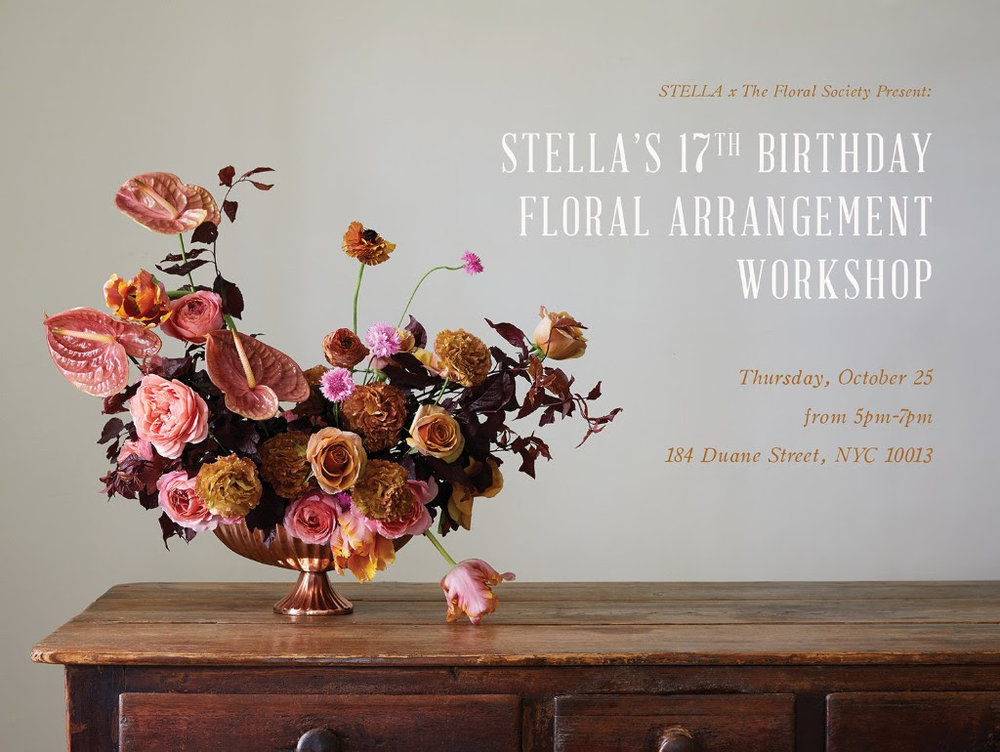Stella workshop invitation