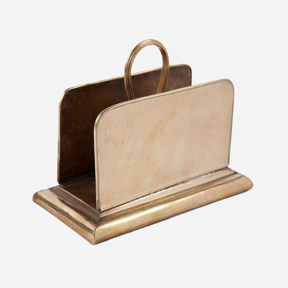 Brass Letter Keep - Sir|Madam