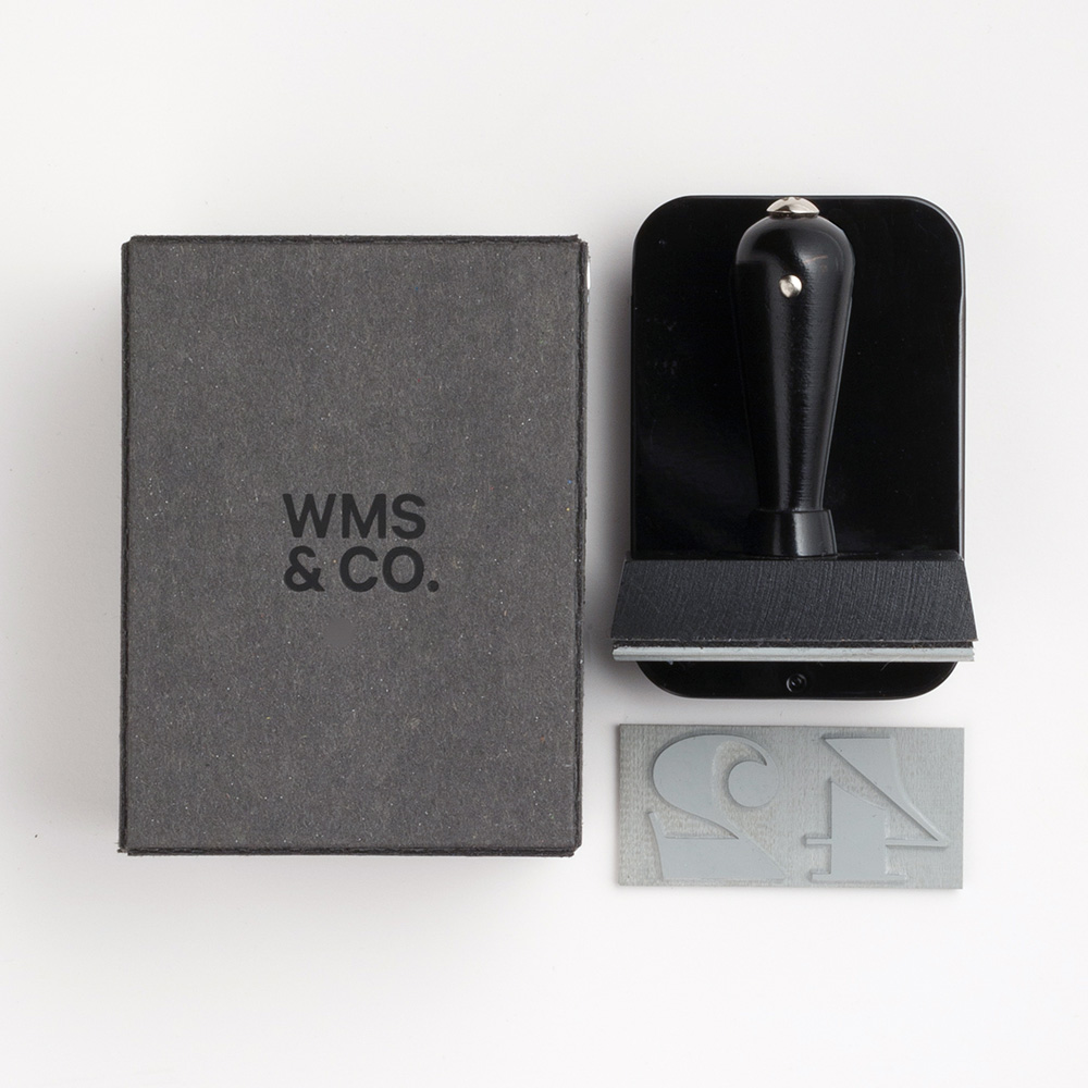 Hand Stamp with Personalized Imprint - Wms & Co.