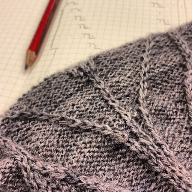 A bit of swatching for a top-secret project today, with Masham Mayhem 4-ply by @gingertwiststudio... so lovely to work with!