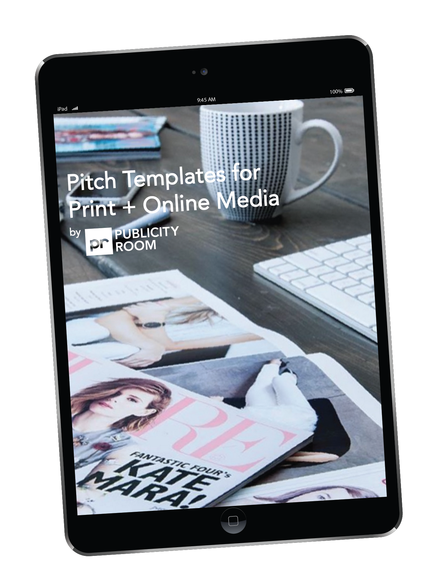 Pitch Templates For Print Online Media Publicity Room
