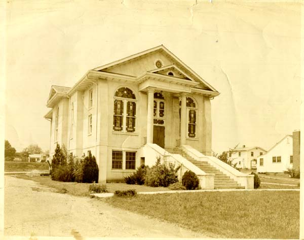 Hueytown First UMC - 1940 Original completed sanctuary