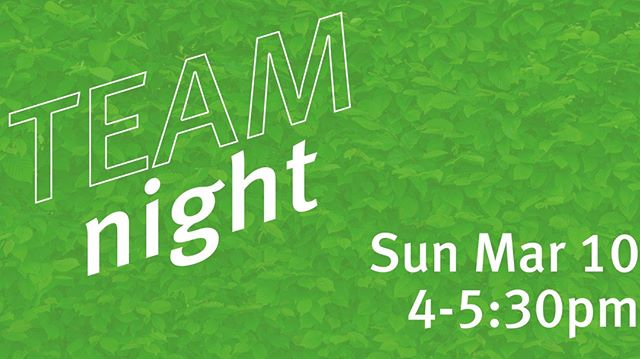 Thrive's next Team Night is Sunday March 10th and you're invited!  Join us from 4-5:30pm in the Heritage Sanctuary (where Thrive meets) for some snacks, singing, celebrating, and hearing what the future could hold for Thrive and our church.  Hit us up with any questions, check out our online group (link in bio), and we'll see you there!  #thrive #thrivehueytown #hueytownumc