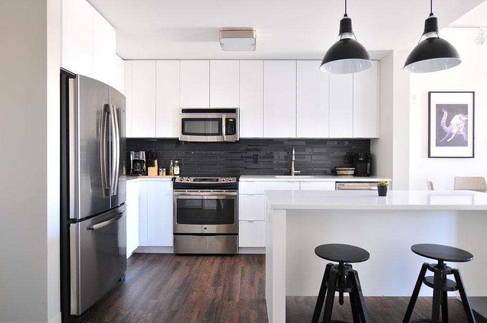 organized kitchen in Cedar Rapids, IA