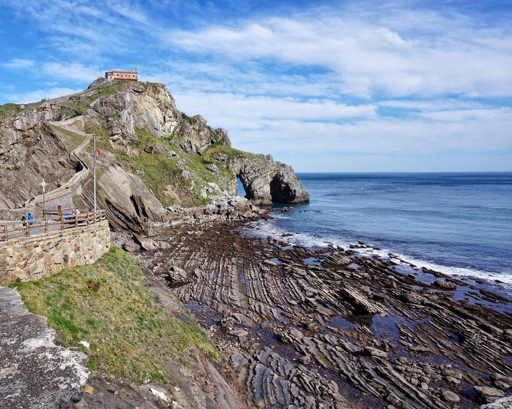San Juan de Gaztelugatxe Basque Country Game of Thrones