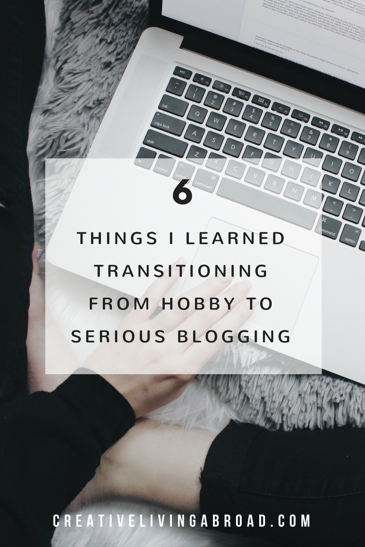 things i learned transitioning from hobby to serious blogging