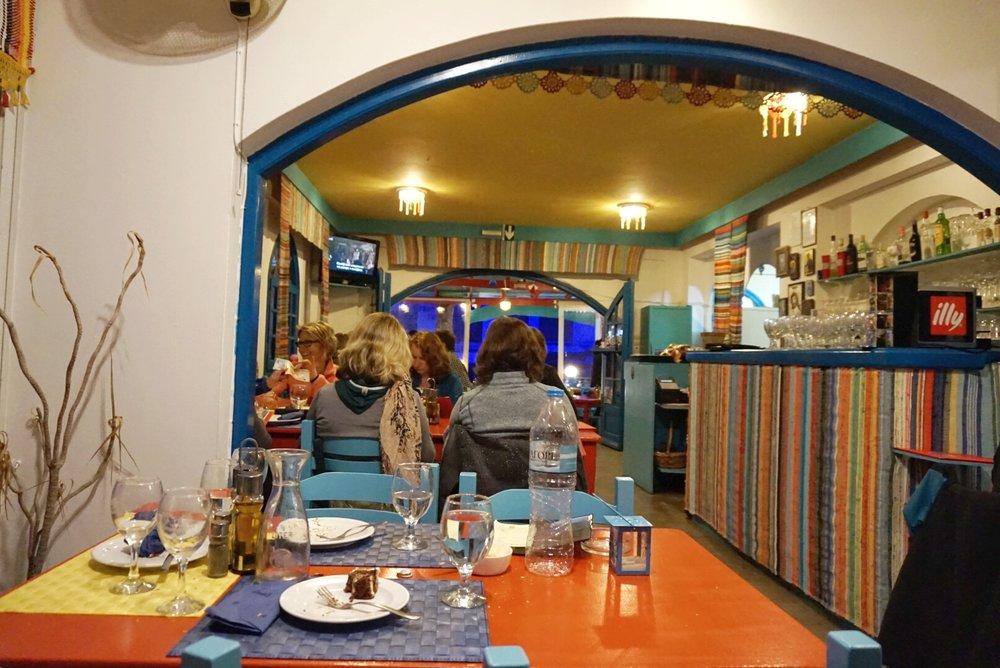 panos restaurant kalymnos