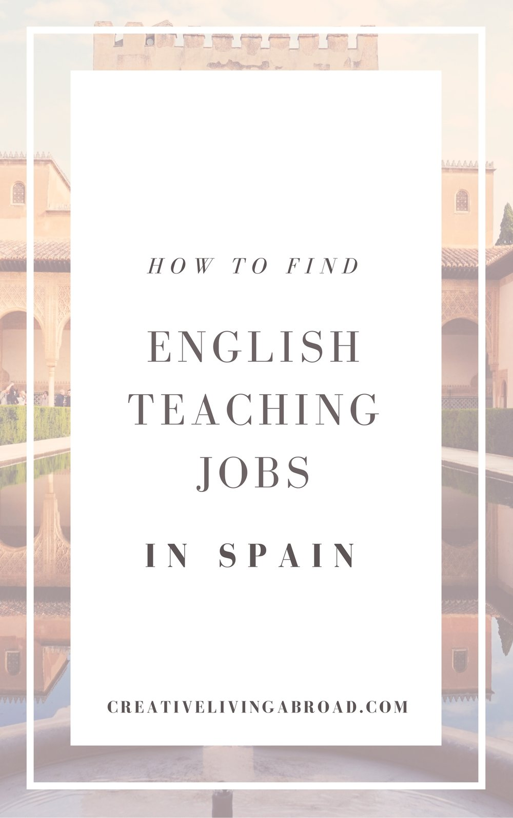 how to find english teaching jobs in spain