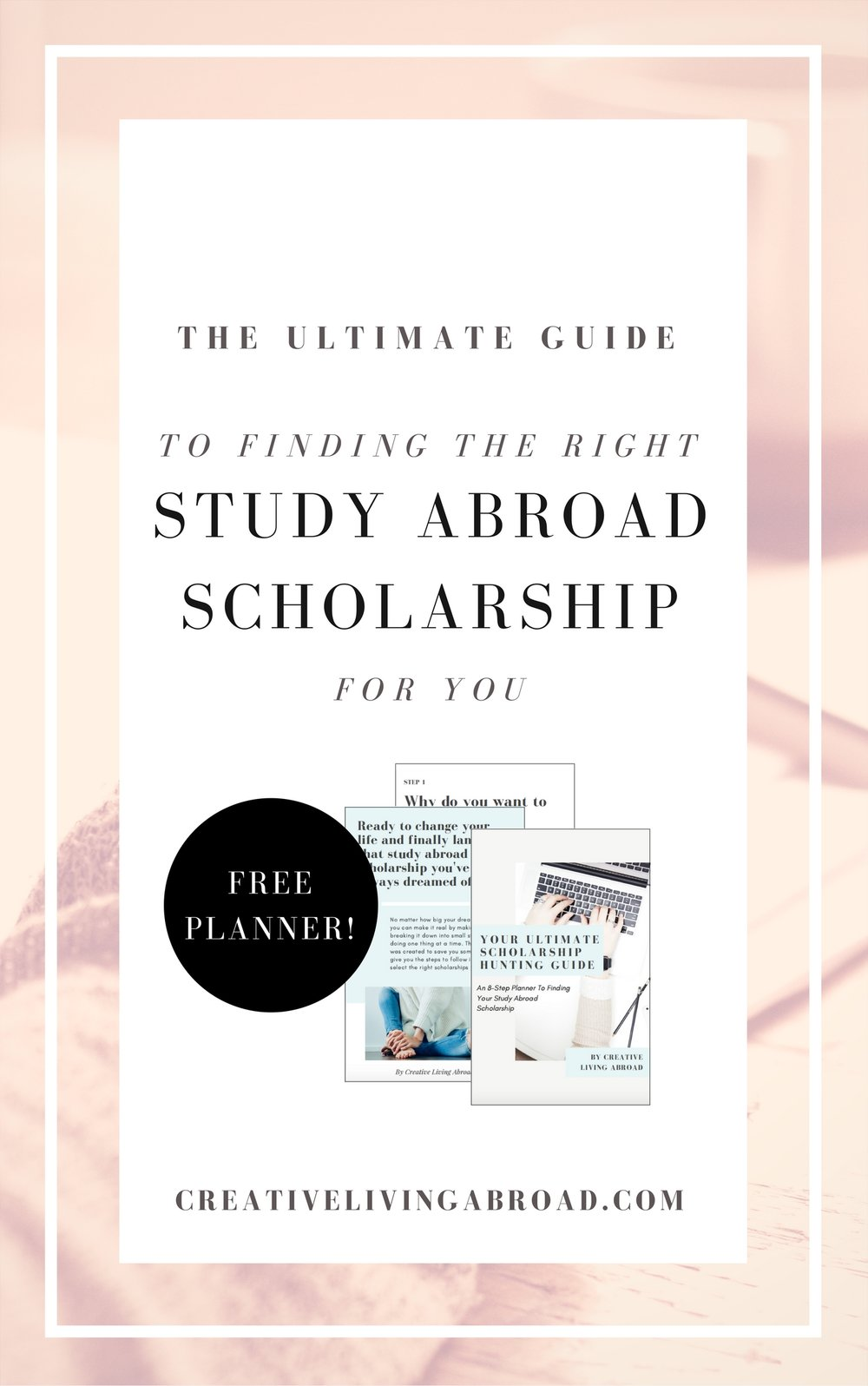 ultimate guide scholarship study abroad free planner