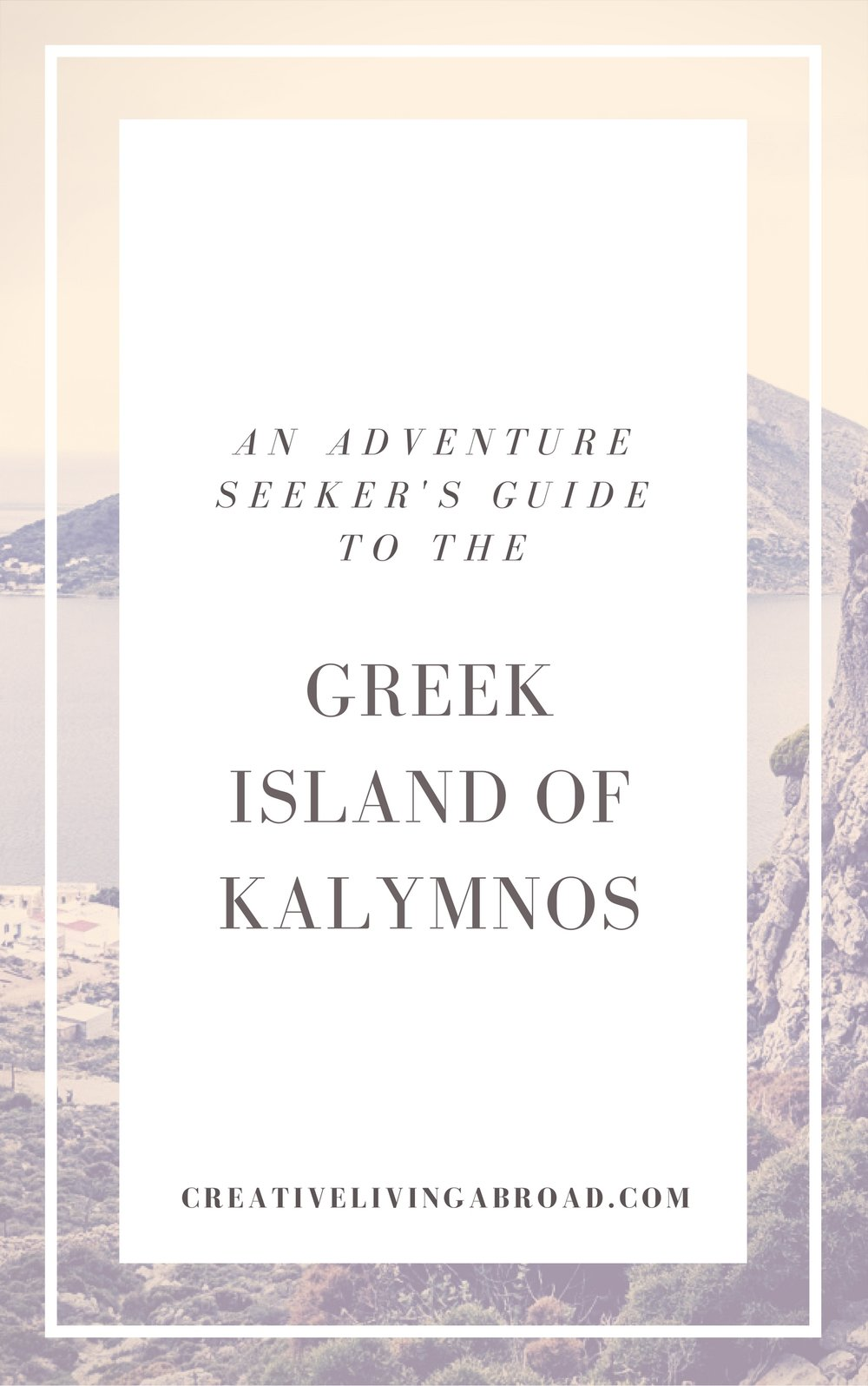adventure climbing guide to the greek island of kalymnos