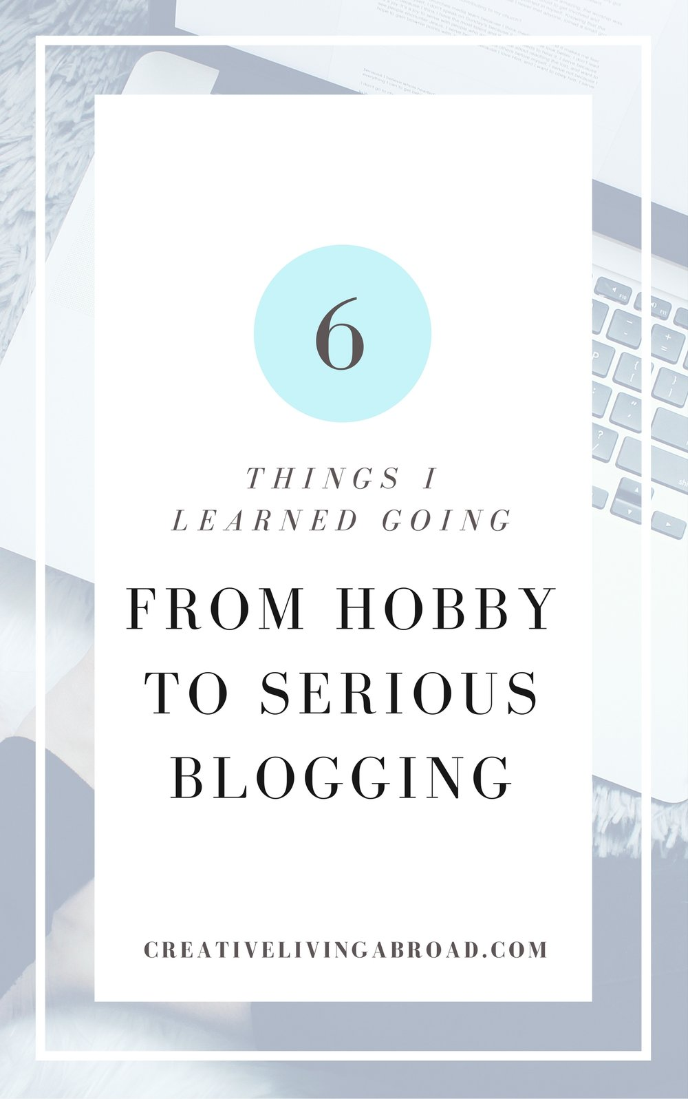 go from hobby to serious blogging