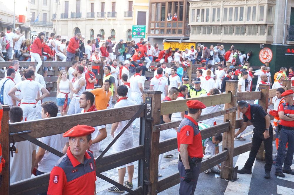 runners bull festival pamplona