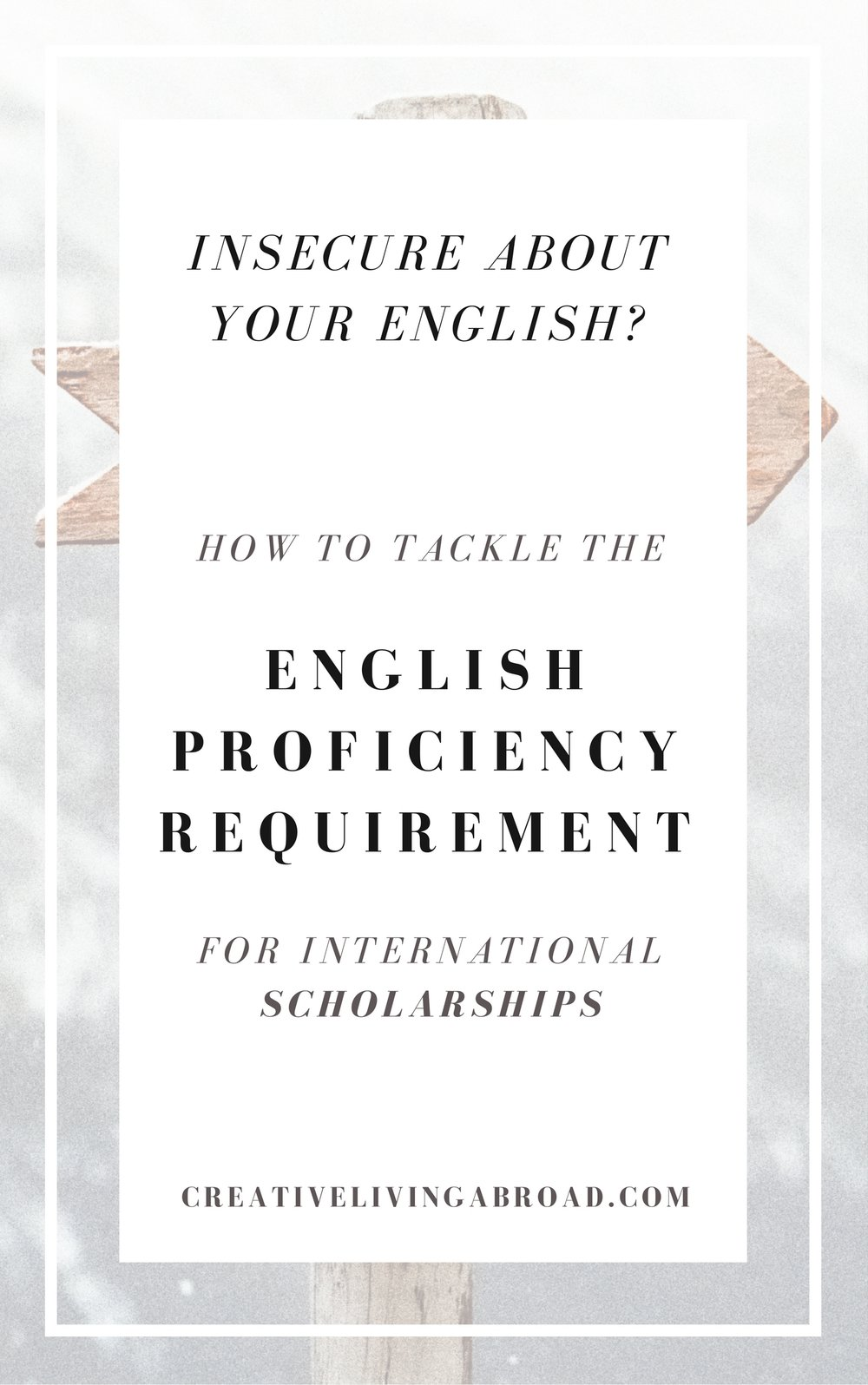 english requirement for international scholarships