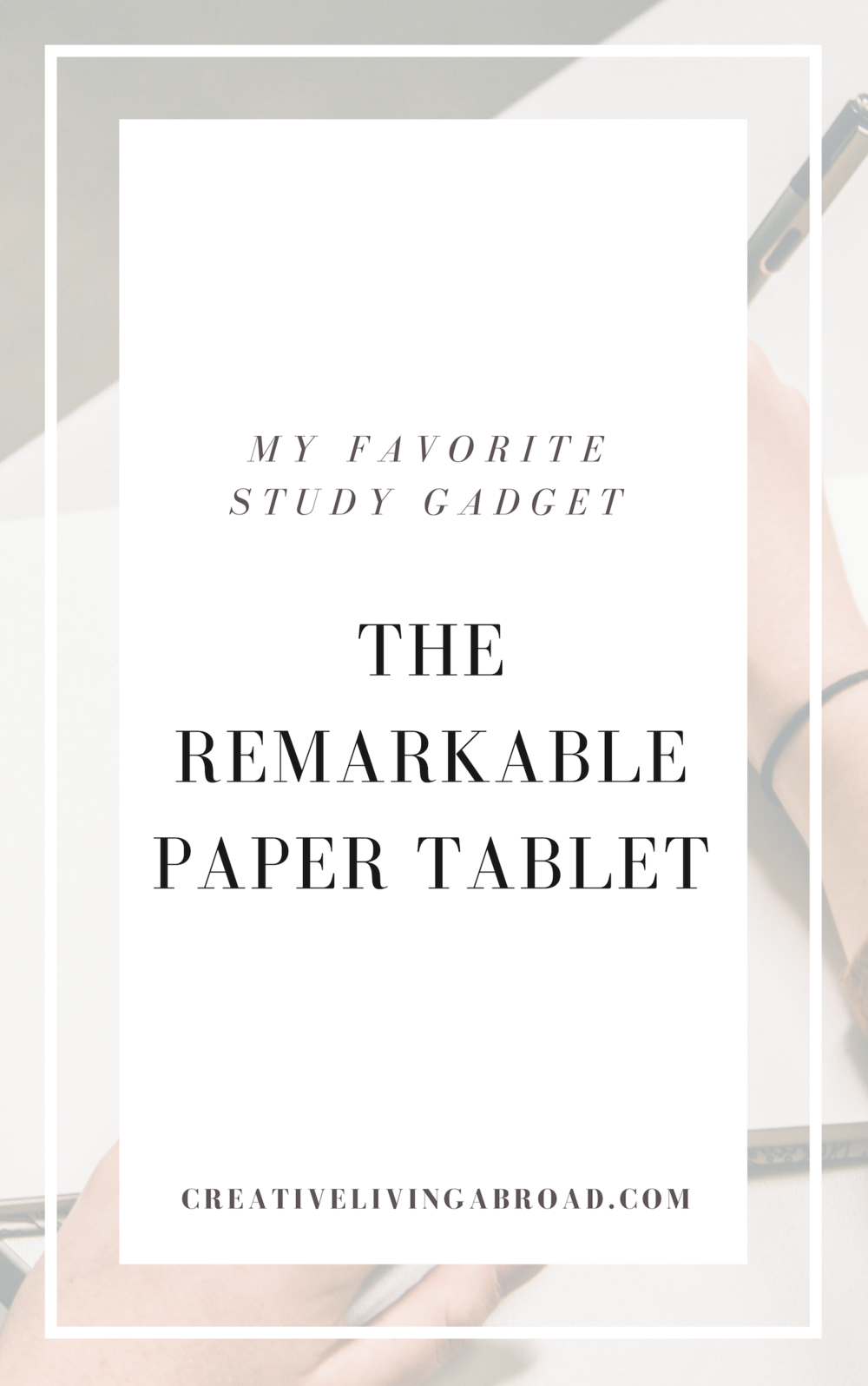remarkable tablet for studying