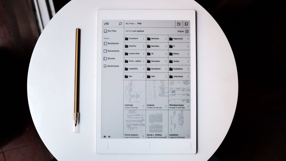 stylus options for remarkable tablet