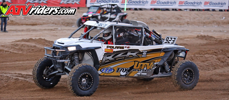 David Martinez continues his rookie season in the BITD Series UTV Pro Turbo class with a fourth-place finish at the Mint 400