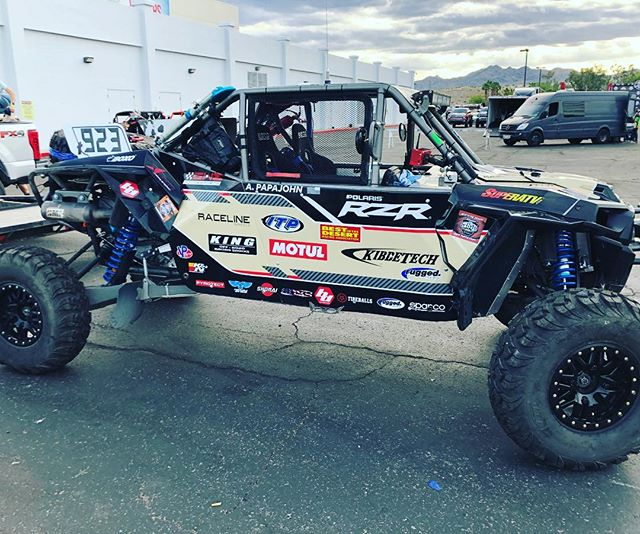 It's race day peoples almost time to haul ass & have fun 🇺🇸 Thank you to all the company's & badass people who make this dream possible we thank you 👍 @polarisrzr #polarisrzr @rhysmillenracing #rhysmillenracing @greenwithenvymotorsports #greenwithenvymotorsports  @motulusa #motulusa @kibbetech #kibbetech @envymotorsports #envymotorsports @bajadesignsofficial  #bajadesigns @knfilters #knfilters @sparcousa #sparco @ruggedradios  #ruggedradios @raclinewheels #teamraceline @itptireswheels  #TeamITPtires @kingshocks  #kingshocks @superatv_com  #superatv @vpracingfuels #vpracingfuels  @shorai #shoraibatteries @tireballs #tireballs @boxousadirect #boxotools @pyrotec_racing #pyrotect  @pro_eagle #proeagle @amrracing #amrracing @actionsportscanopies #actionsportscanopies