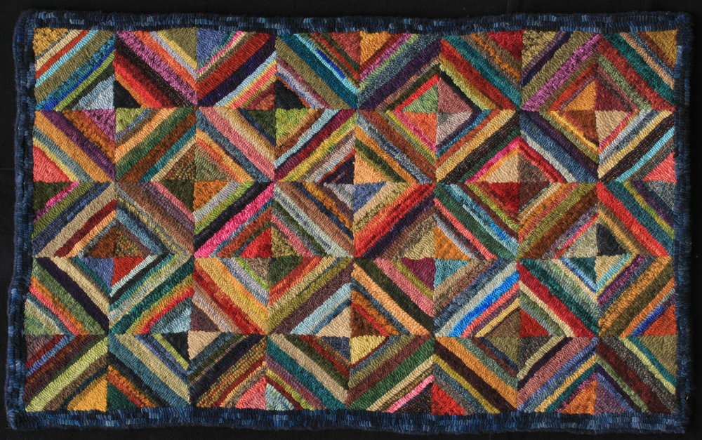 EASTIRONBOUND SQUARES -SCRAPPY RUG  Judiths IMG_9337.JPG