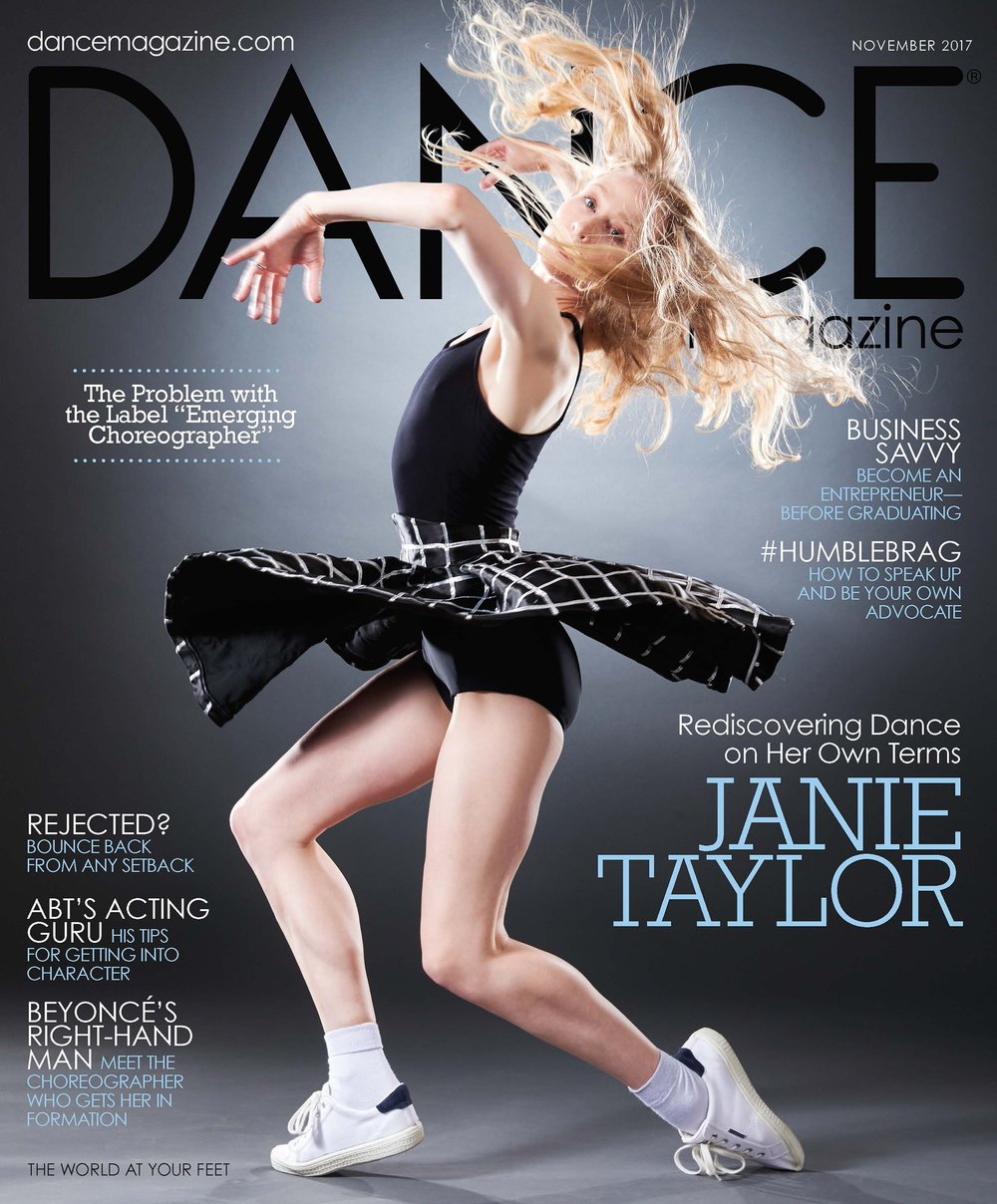November 2017 - Amanda was interviewed and featured in Dance Magazine's article