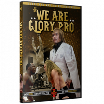 We Are Glory Pro  2/18/18 - $15