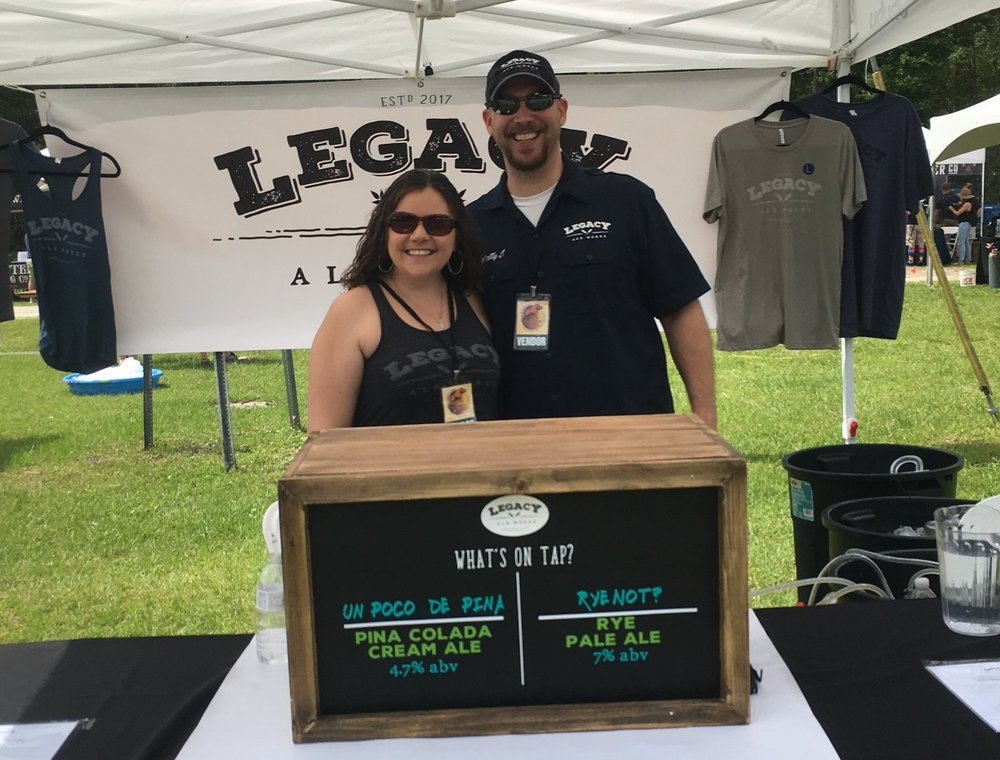 Liz & Matt Jacobs - Owners of Legacy Ale Works